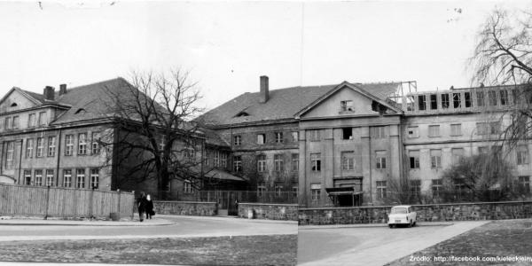 """Leśna 16. Lata 1969-1972, początek przebudowy. źródło"""" fotopolska.eu."""