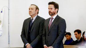 Kevin Spacey i jego adwokat - Alan Jackson
