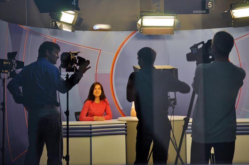 studio telewizyjne