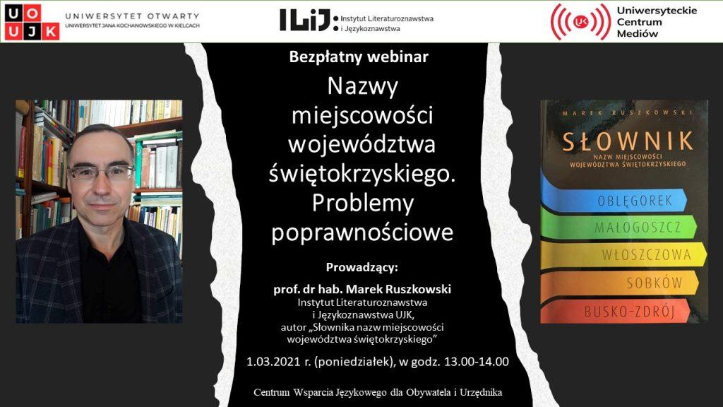 webinarium z prof. Ruszkowskim